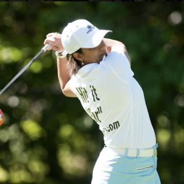 Dundas golfer Fareen Samji still hitting them long